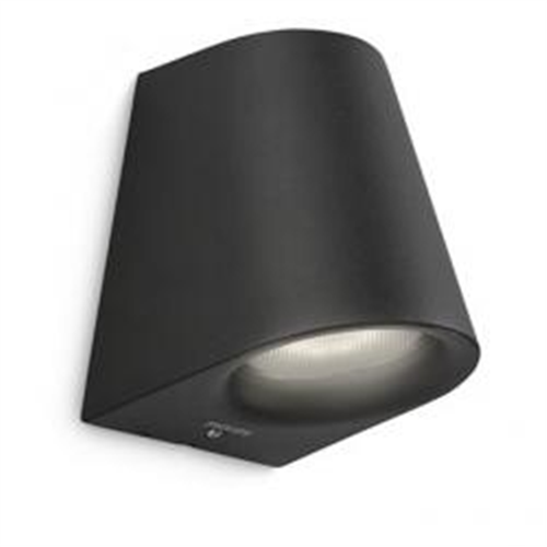 17287 wall lantern LED black 1x4W SELV