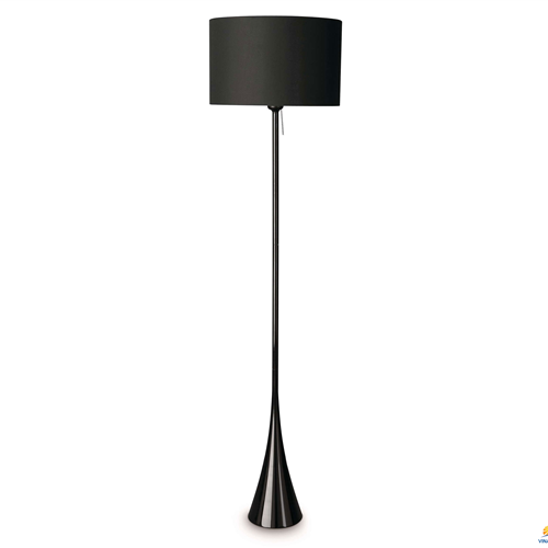 42938 floor lamp black 1x24W